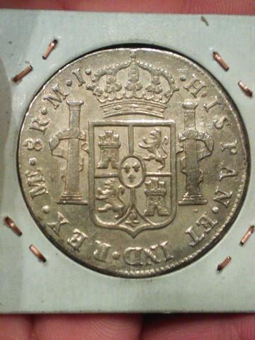 8 reales 1779. Carlos III. Lima. WP_001238