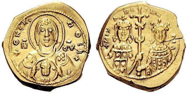 Denominación de las monedas de Bizancio. 1ª parte Tetarteron_2