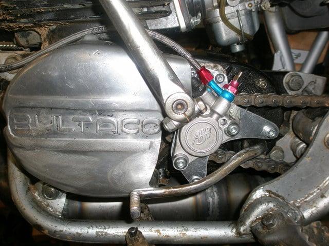 Embrague hidraulico en Bultacos. Emb2