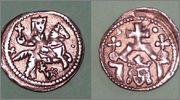 Denar de Bela IV de Hungría 1235-1270 K800_B4_1
