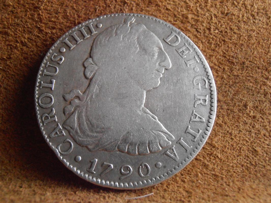 8 Reales 1790. Carlos IV. Méjico  P3260052