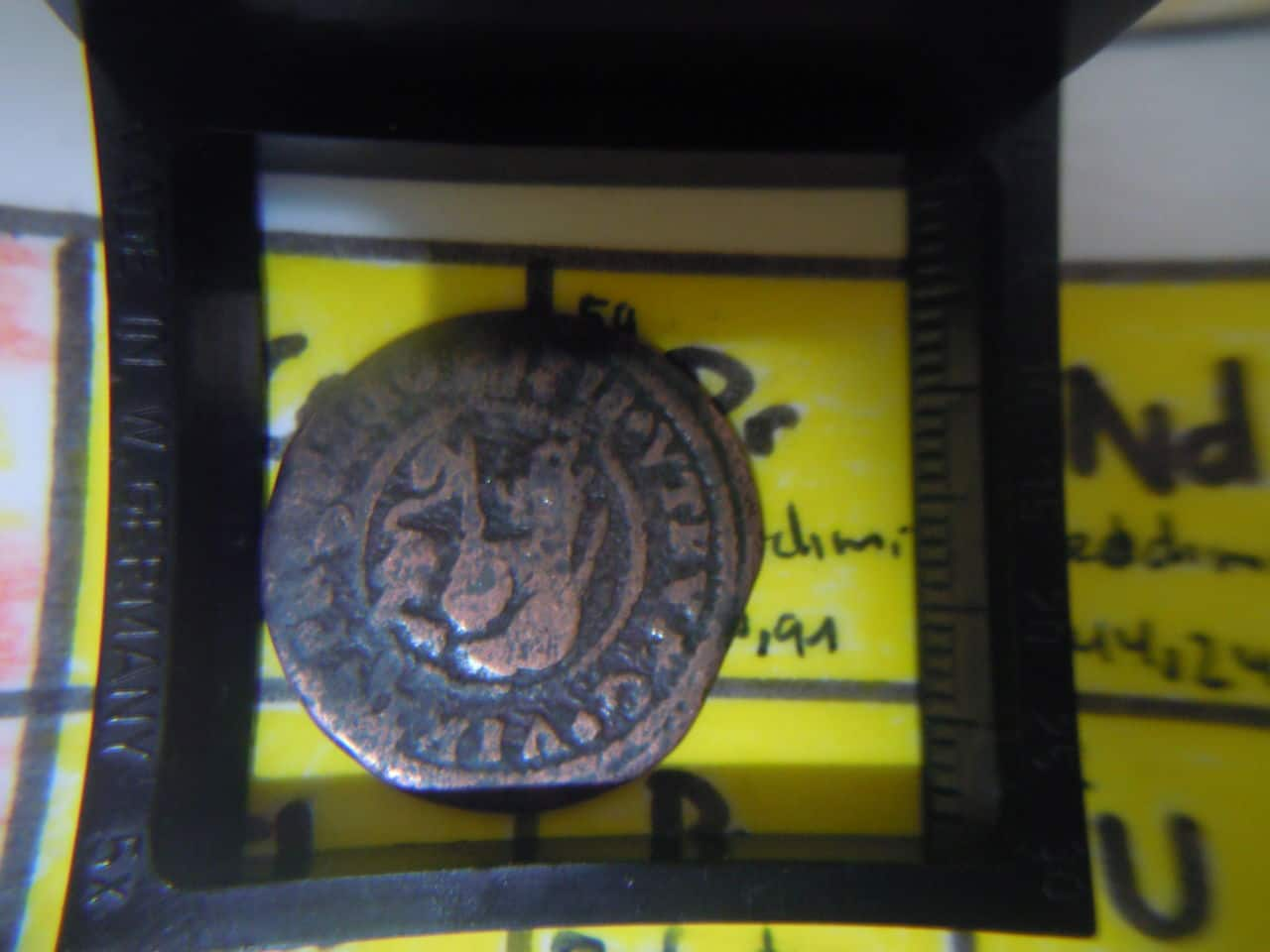 2 maravedis 1718. Felipe V. Barcelona. 007