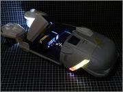 FUJIMI Police Spinner + Custom Set (Blade Runner) 14_FSpinner_unp