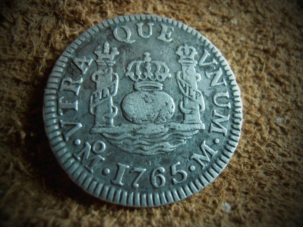 1 Real columnario Carlos III,ceca Mexico 1765 P9190012_1