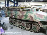 Немецкий средний бронетранспортер SdKfz 251/7  Ausf D,  Musee des Blindes, Saumur, France 251_7_Saumur_068