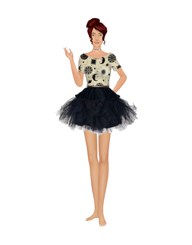 Finish a design game Bbatesmoonstonespaceoutfittutu