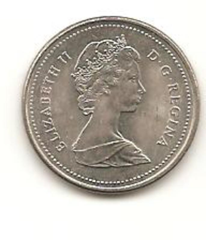 5 Cents. Canada. 1989 Image