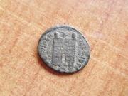 AE3 de Constantino II. PROVIDENTIAE CAESS.  Roma P1400165