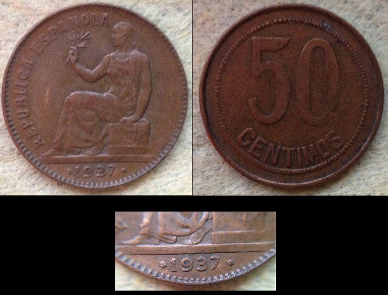 50 céntimos 1937 Orla de puntos cuadrados y estrellas anepígrafas-Republica Española Orla_de_puntos_cuadrados_Anp