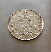 2 Reales 1810. Fernando VII. Cádiz. Opinión. IMG_5838