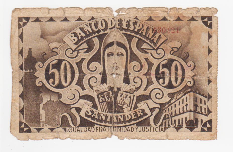 50 pesetas Santander 1936 (todos los bancos) 50_pesetas_santander_hispano_americano_001