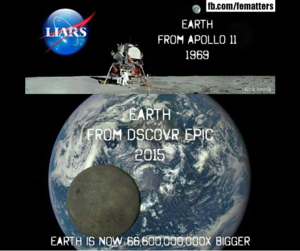 Flat Earth Memes - Page 2 Oneorbothoftheseimagesmustbefake