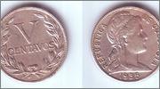 Colombia 1935 5 Centavos 703_001a