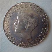 UN PESO 1897 ISLAS FILIPINAS ( mejorandolo) Image
