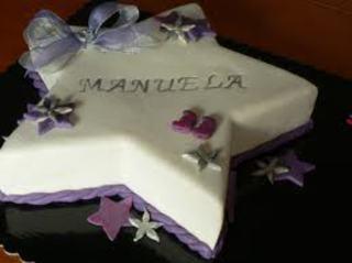 Feliz Aniversário Manuela!!! Bolo