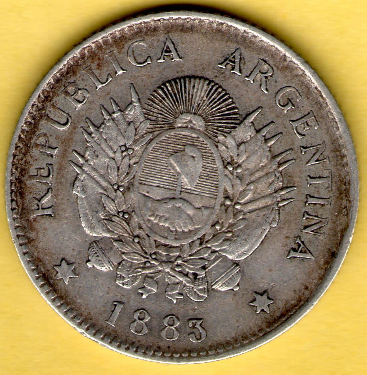 20 centavos de Patacón. Argentina. 1883. 20_Centavos_de_Patacon_rev
