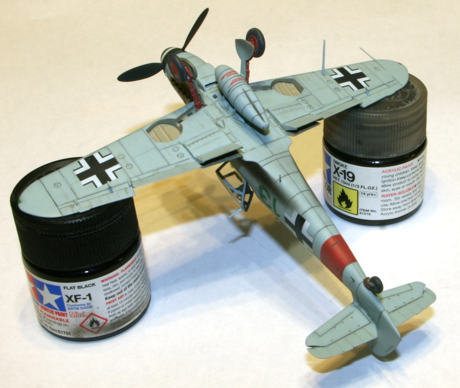 "Bf-109 g-6AS W.Oesau ""Az model"" 1/72 IMG_3398"