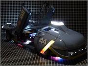 FUJIMI Police Spinner + Custom Set (Blade Runner) 24_FSpinner_LEDa