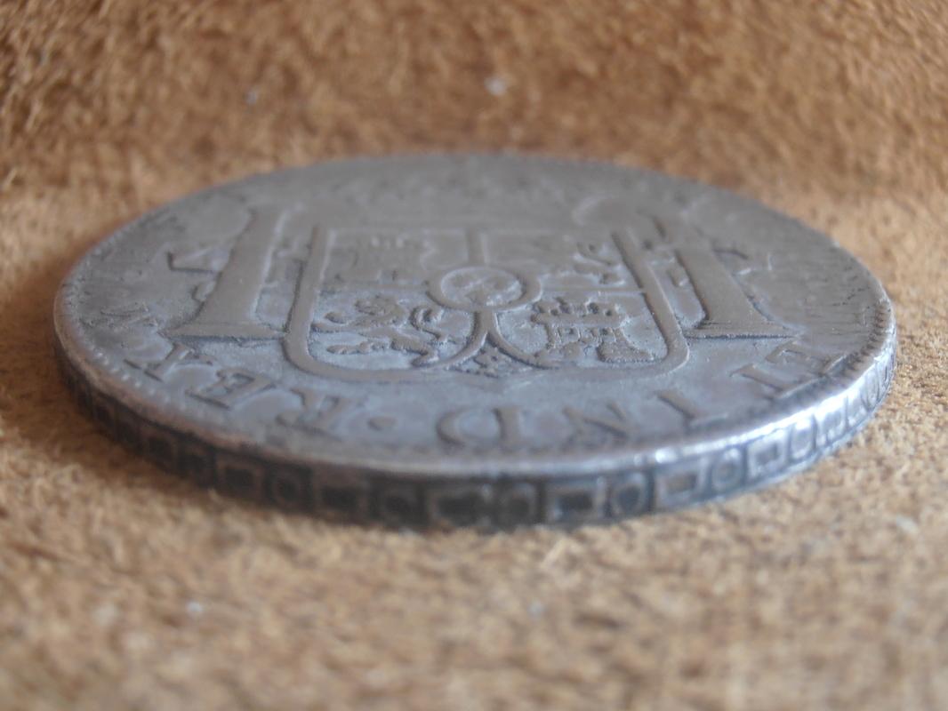 8 Reales Carlos IV 1803. Méjico P9020005