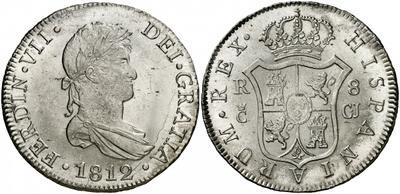 8 reales 1812. Fernando VII. Cádiz. Dudas autenticidad 2425892.m