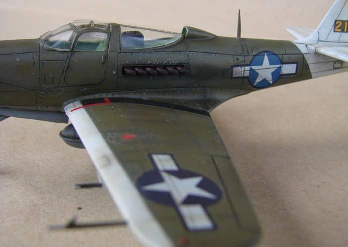P-39Q Airacobra, 1/72, Academy (rebuild) DSC02946