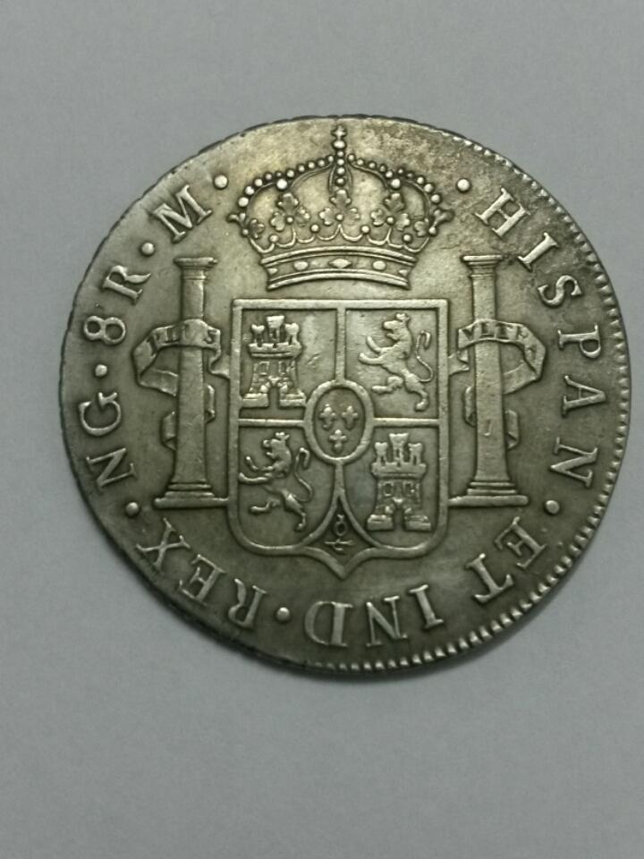 8 reales 1795/4. Carlos IV. Guatemala. Dedicada al Marqués de la Ensenada 2015_10_20_23_28_36