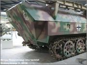 Немецкий средний бронетранспортер SdKfz 251/7  Ausf D,  Musee des Blindes, Saumur, France 251_7_Saumur_047