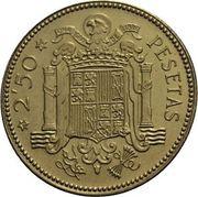 2'5 pesetas Franco 1953*70 Image