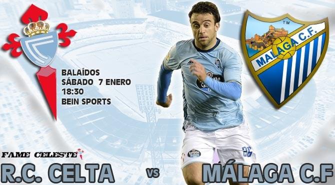 R.C. Celta 3-1 Málaga C.F. | 17ª Jornada Liga CELTA_VS_MALAGA_2017