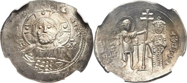 Denominación de las monedas de Bizancio. 1ª parte Histamenon_2