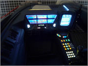 FUJIMI Police Spinner + Custom Set (Blade Runner) 07_FSpinner_int_d