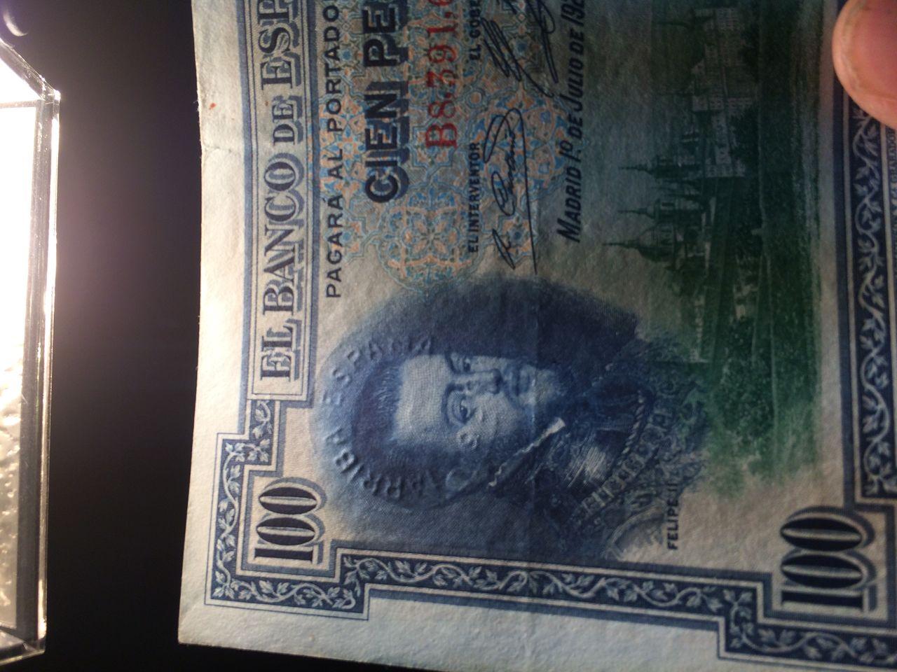 100 Pesetas 1925 (Tres sellos secos:Arriba España, Burgos y República) IMG_1759