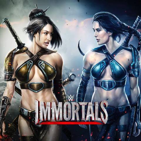 The first look of WWE Immortals characters. 10924825_863535820365121_8440968160241087851_n_j
