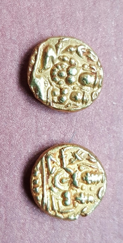Monedas de Oro sin identificar. India?  20161205_161949