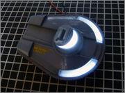 FUJIMI Police Spinner + Custom Set (Blade Runner) 23_FSpinner_LED1