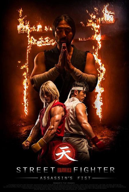 Street Fighter: Assassin's Fist/Resurrection (2014/2016) (Mini-serie web) Assassins_Fist_first_official_poster_Ken_and_Ryu