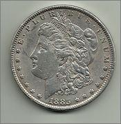 Parecidos Razonables 1_Dolar_Morgan_1885_anver
