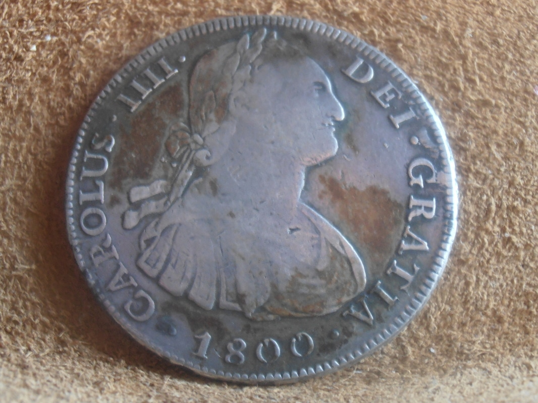 8 Reales 1800 Carlos IV. Potosí P9018603