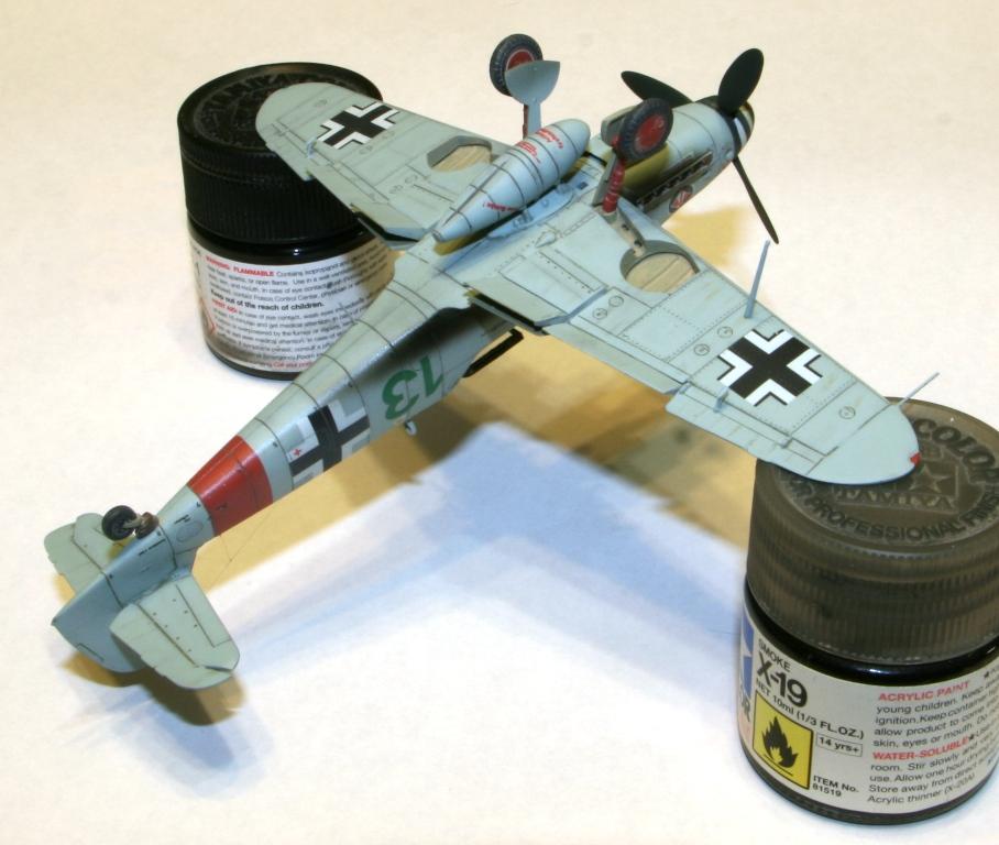 "Bf-109 g-6AS W.Oesau ""Az model"" 1/72 IMG_3399"
