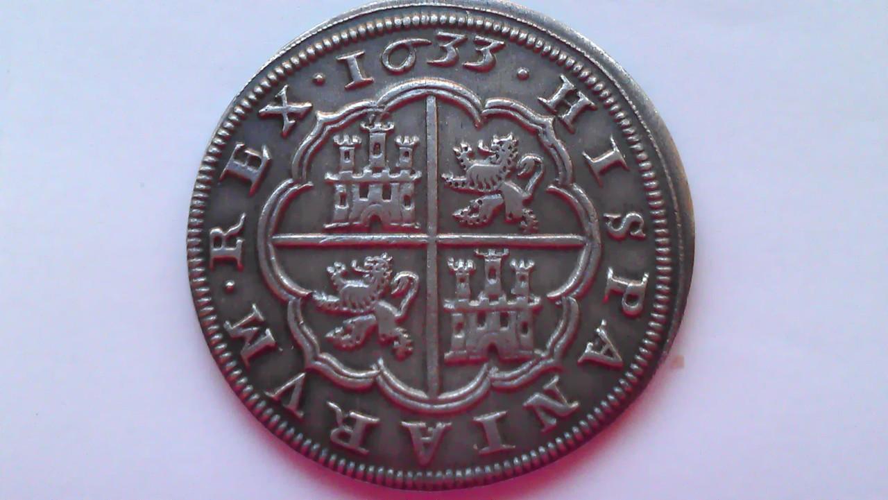 8 reales 1633. Felipe IV. Real Ingenio de Segovia. IMAG1221