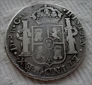 8 reales 1821 ceca Durango 57_1
