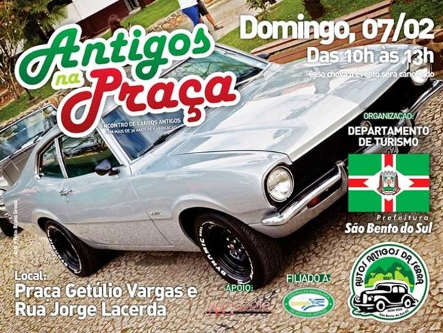 """Raduno """"Auto d'epoca in Piazza"""" - São Bento do Sul An_P_2016_1"""