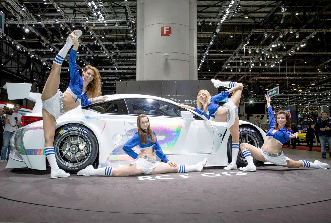 2014 - [Lexus] RC Coupé / RC-F - Page 6 14_03_04_lexus_rc_f_gt3_cheerleaders
