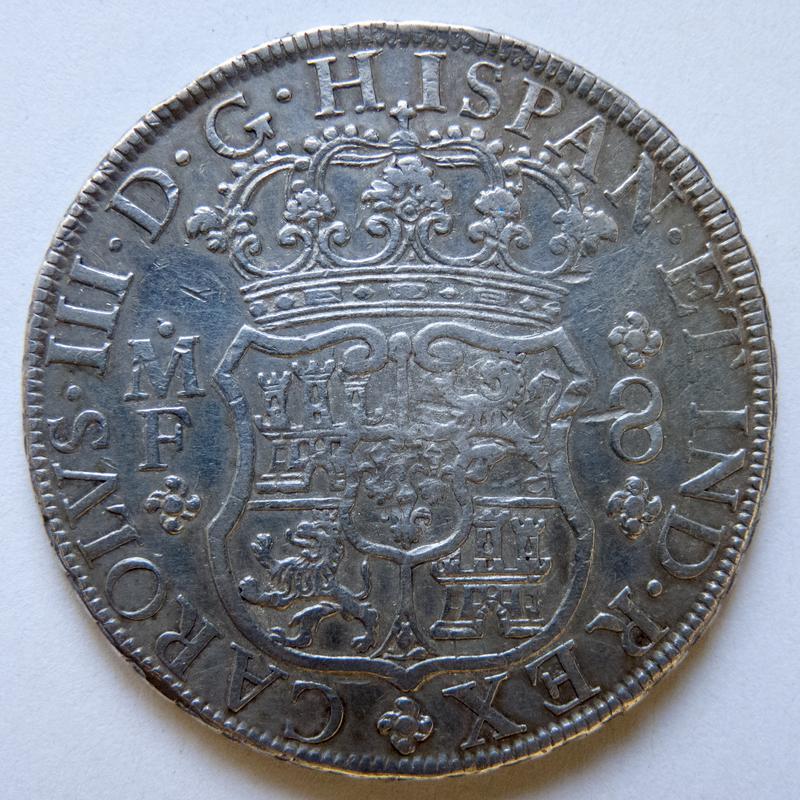 8 reales 1769 México P1030439-1