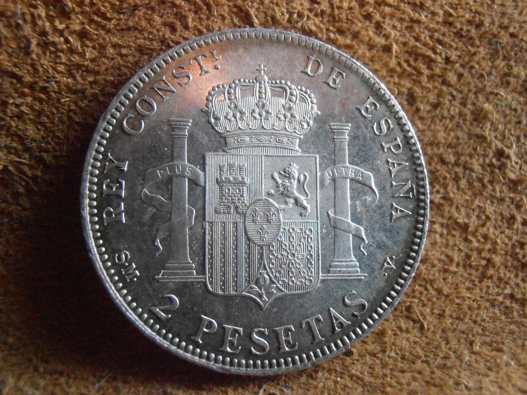 2 Pesetas 1905. AlfonsoXIII. SM V P4170020
