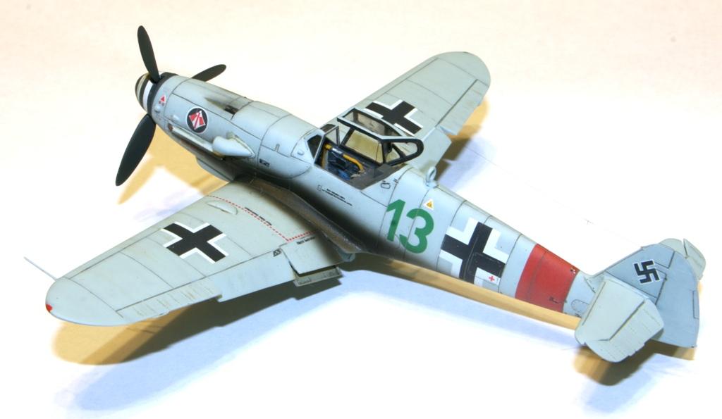 "Bf-109 g-6AS W.Oesau ""Az model"" 1/72 IMG_3397"