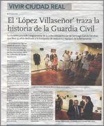 Exposicion de La Guardia Civil, Museo Villa Señor de Ciudad Real. 14 de Junio - 20 de Julio, 2013. EXPOSICION_LOPEZ_VILLASE_OR