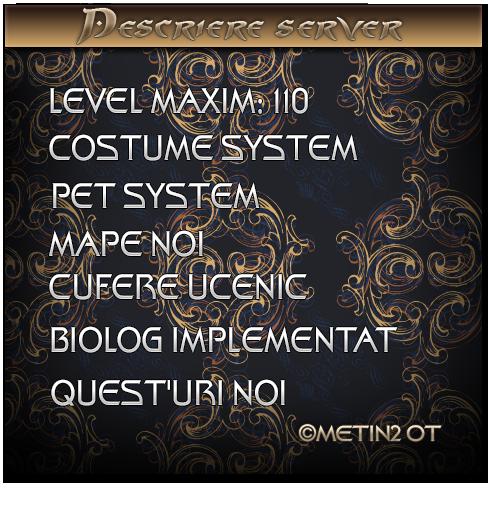 Metin2OT Privat Romanesc Deschis 1.05.2014 Prezentare_evo