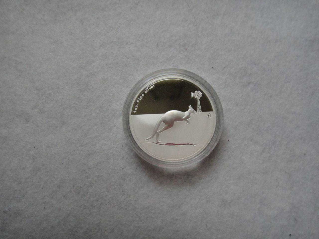 Kangaroo in outbrak 2012 proof f15 privy mark DSC03216