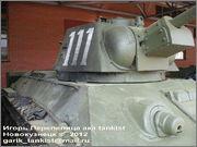 Советский средний танк ОТ-34, завод № 174, осень 1943 г., Военно-технический музей, г.Черноголовка, Московская обл. 34_111